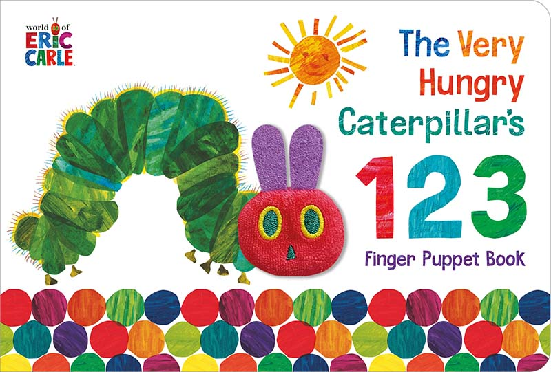 The Very Hungry Caterpillar Finger Puppet Book - Jacket