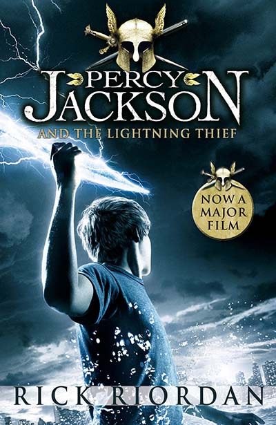 Percy Jackson and the Lightning Thief - Film Tie-in (Book 1 of Percy Jackson) - Jacket