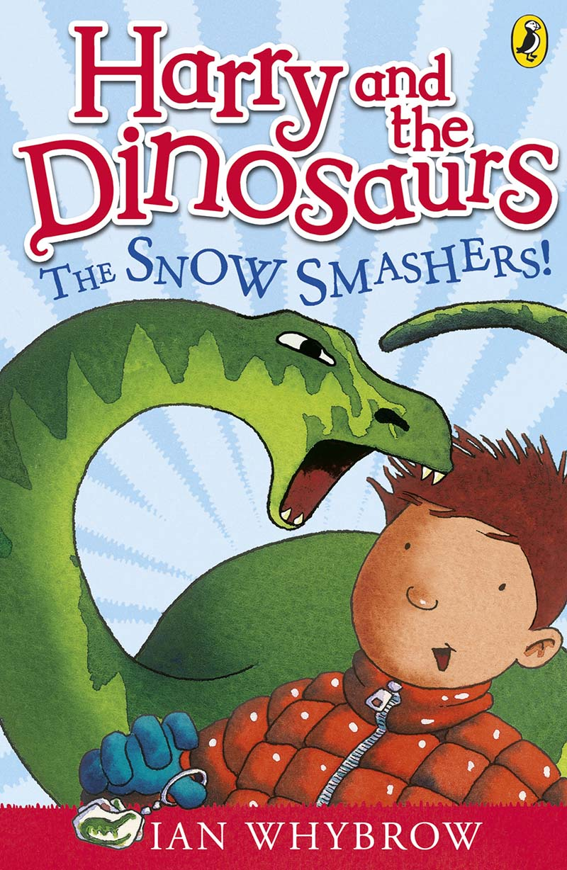 Harry and the Dinosaurs: The Snow-Smashers! - Jacket