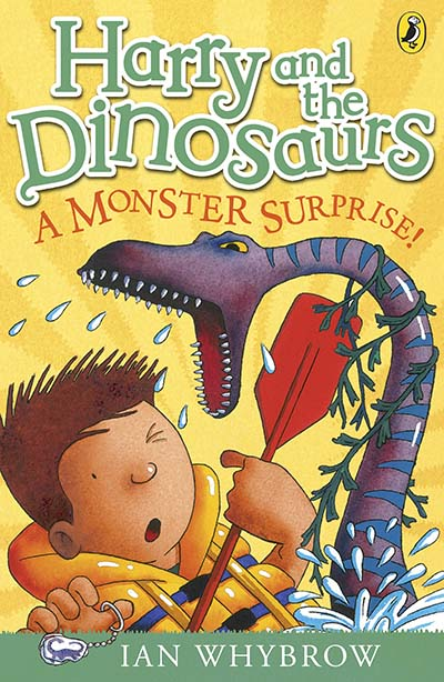 Harry and the Dinosaurs: A Monster Surprise! - Jacket