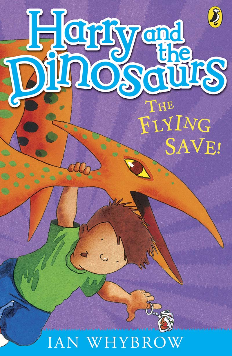 Harry and the Dinosaurs: The Flying Save! - Jacket