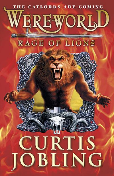 Wereworld: Rage of Lions (Book 2) - Jacket