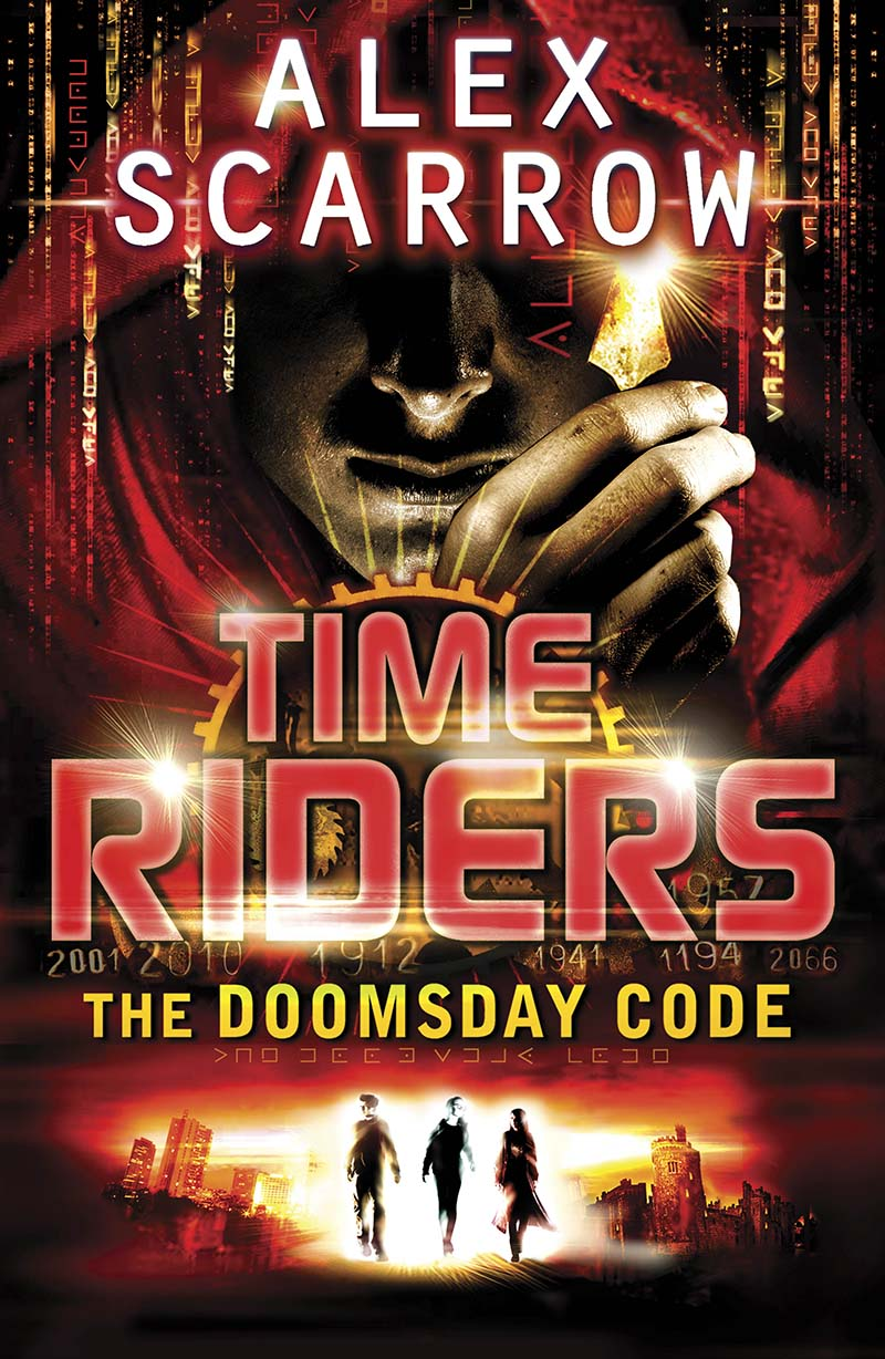 TimeRiders: The Doomsday Code (Book 3) - Jacket