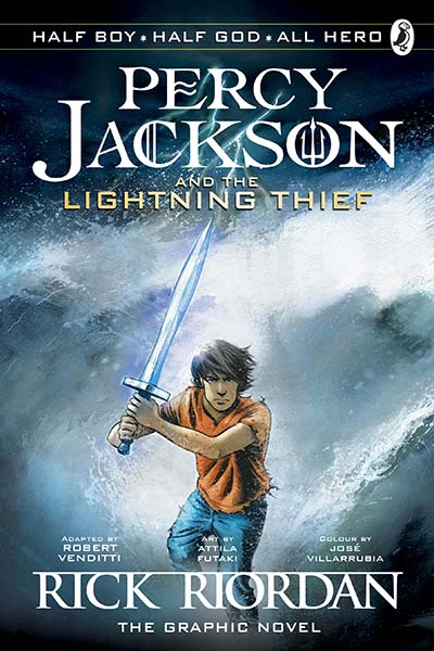 Percy Jackson and the Lightning Thief - The Graphic Novel (Book 1 of Percy Jackson) - Jacket