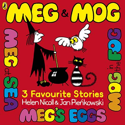 Meg and Mog: Three Favourite Stories - Jacket