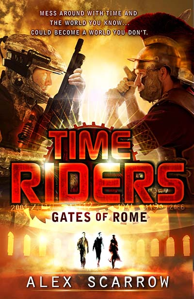 TimeRiders: Gates of Rome (Book 5) - Jacket