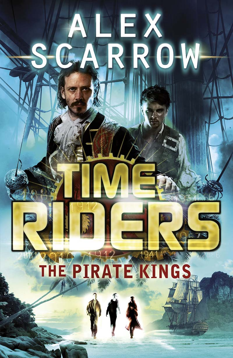 TimeRiders: The Pirate Kings (Book 7) - Jacket