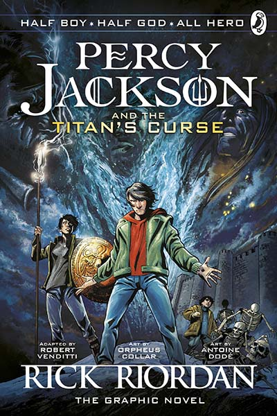 Percy Jackson and the Titan's Curse: The Graphic Novel (Book 3) - Jacket
