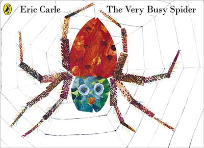 The Very Busy Spider - Jacket