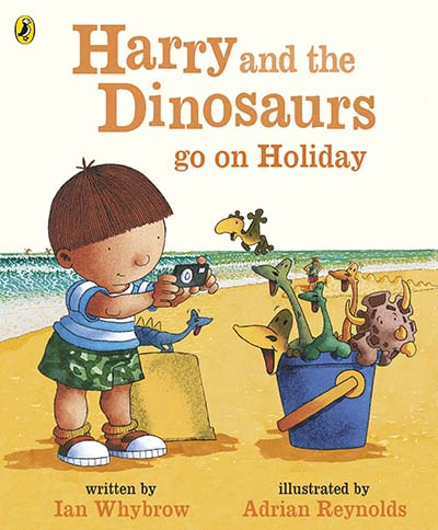 Harry and the Bucketful of Dinosaurs go on Holiday - Jacket