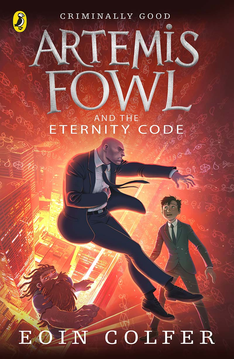 Artemis Fowl and the Eternity Code - Jacket