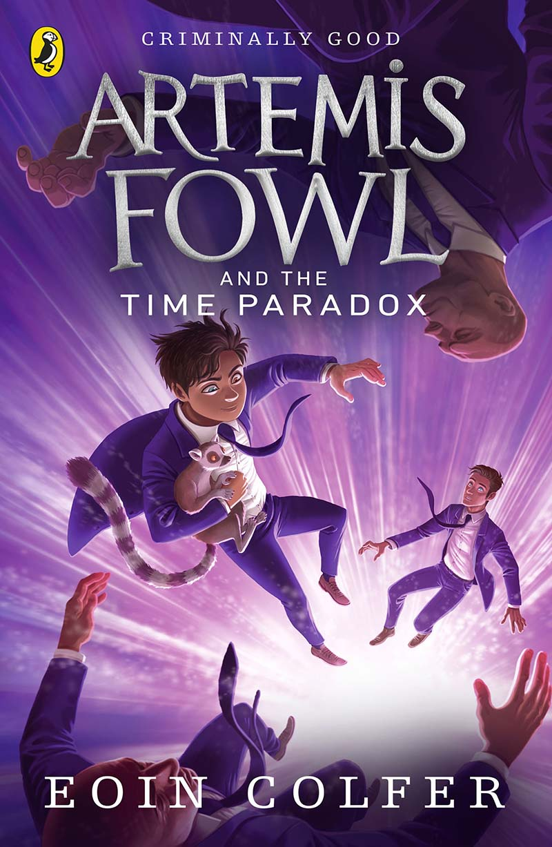 Artemis Fowl and the Time Paradox - Jacket