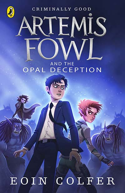 Artemis Fowl and the Opal Deception - Jacket