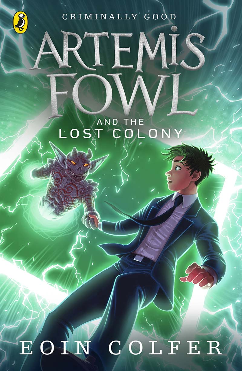 Artemis Fowl and the Lost Colony - Jacket