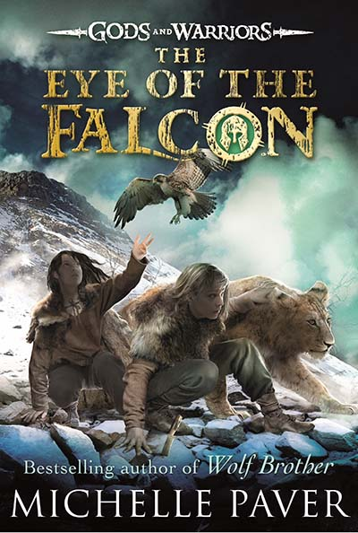 The Eye of the Falcon (Gods and Warriors Book 3) - Jacket