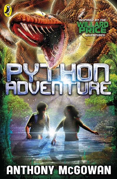 Willard Price: Python Adventure - Jacket