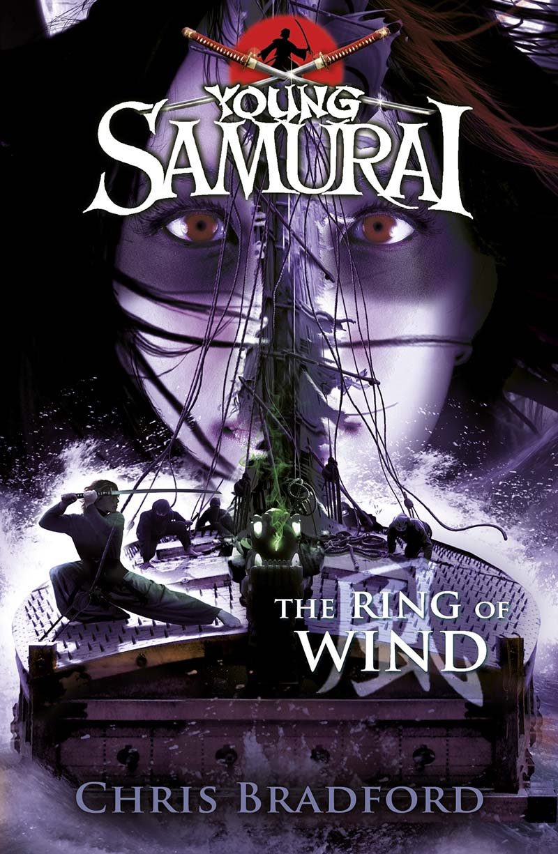 The Ring of Wind (Young Samurai, Book 7) - Jacket