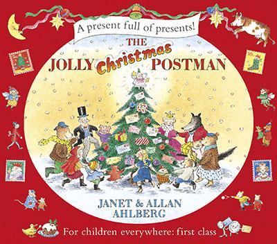 The Jolly Christmas Postman - Jacket