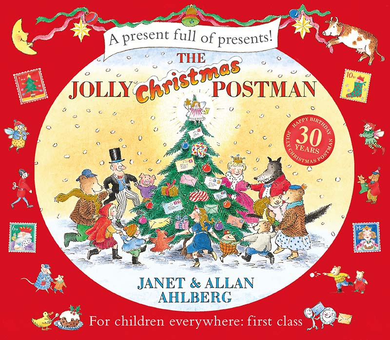 The Jolly Christmas Postman - Jacket
