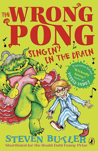 The Wrong Pong: Singin' in the Drain - Jacket