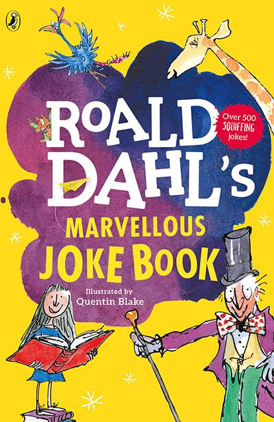 Roald Dahl's Marvellous Joke Book - Jacket