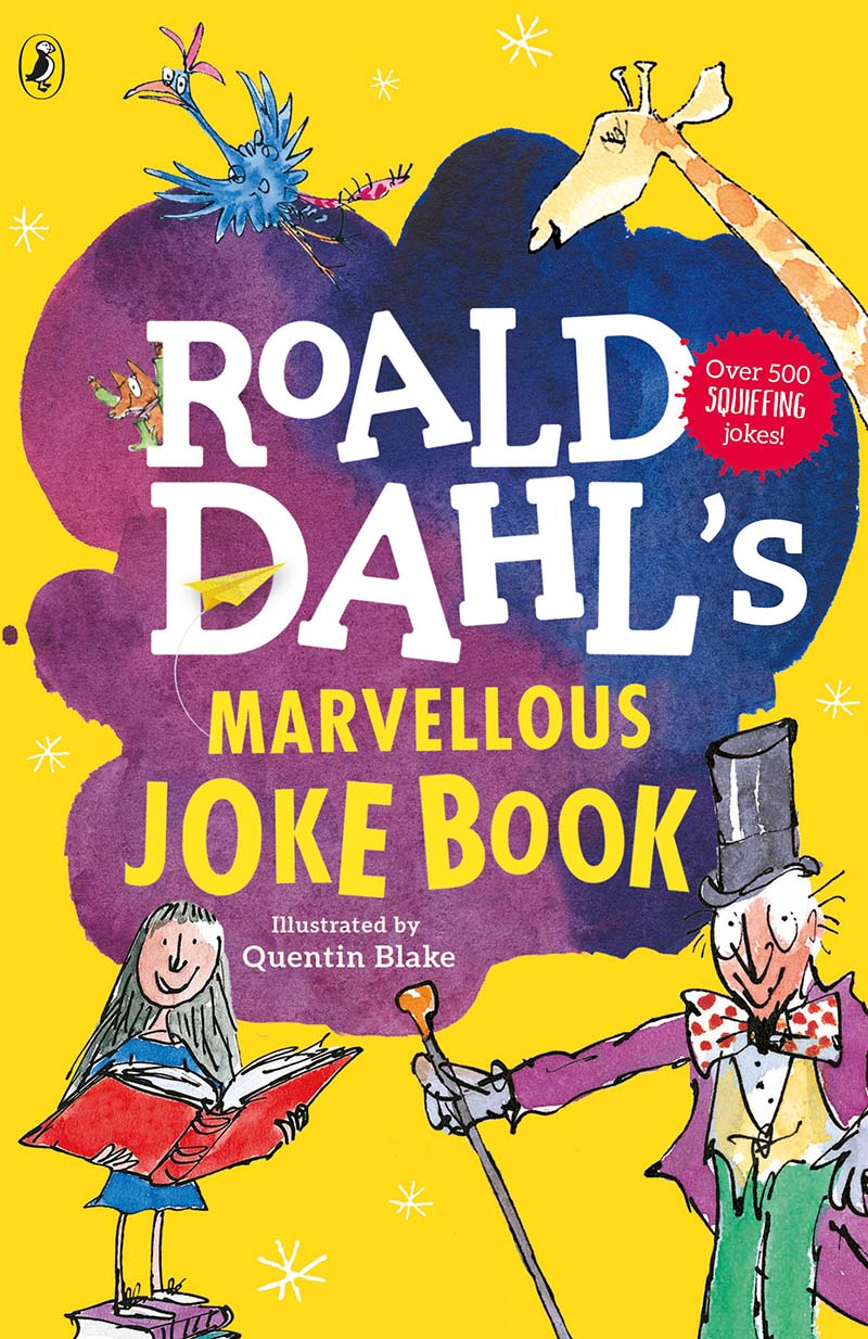 Roald Dahl's Marvellous Joke Book - Jacket
