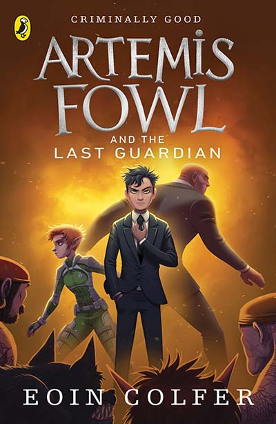 Artemis Fowl and the Last Guardian - Jacket