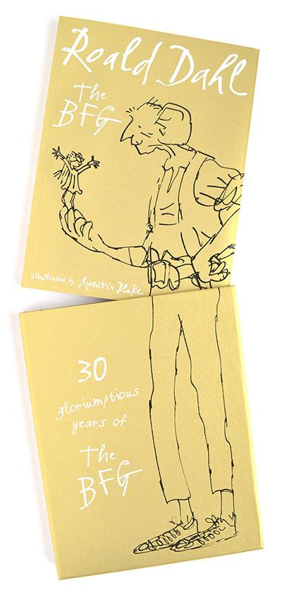 The BFG (slipcase gift ed) - Jacket