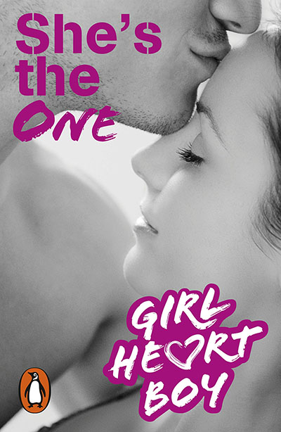 Girl Heart Boy: She's The One (Book 5) - Jacket