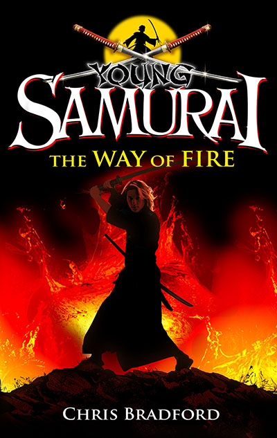 Young Samurai: The Way of Fire (short story) - Jacket