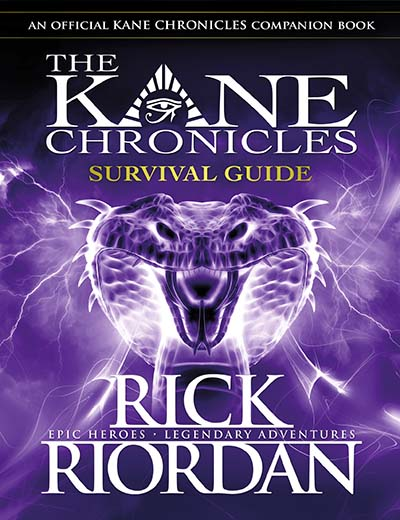 Survival Guide (The Kane Chronicles) - Jacket