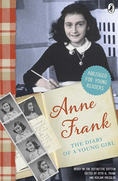 The Diary of Anne Frank (Abridged for young readers) - Jacket