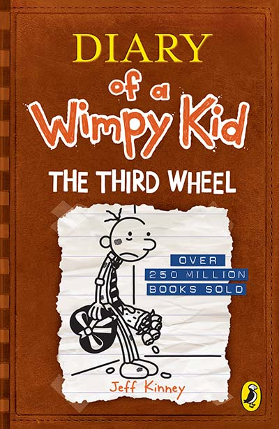 Diary of a Wimpy Kid: The Third Wheel (Book 7) - Jacket