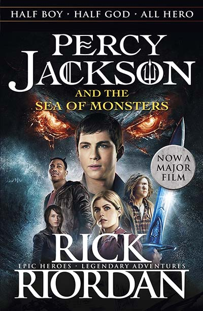 Percy Jackson and the Sea of Monsters (Book 2) - Jacket