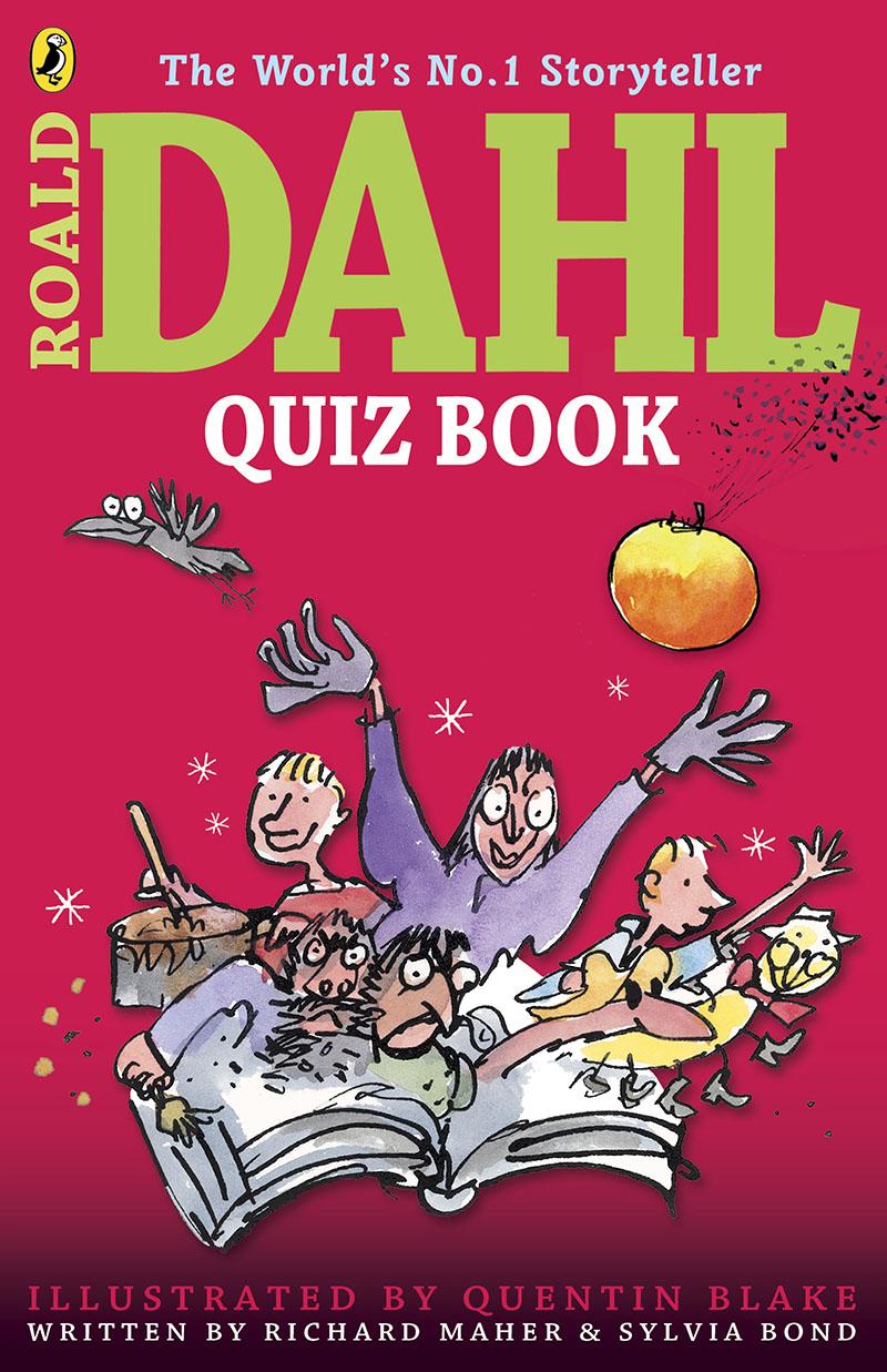 The Roald Dahl Quiz Book - Jacket
