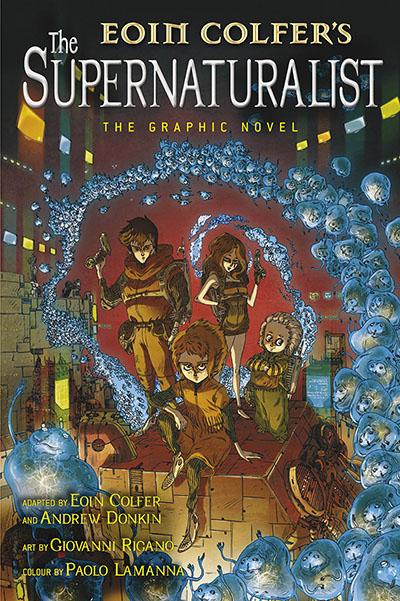 The Supernaturalist: The Graphic Novel - Jacket
