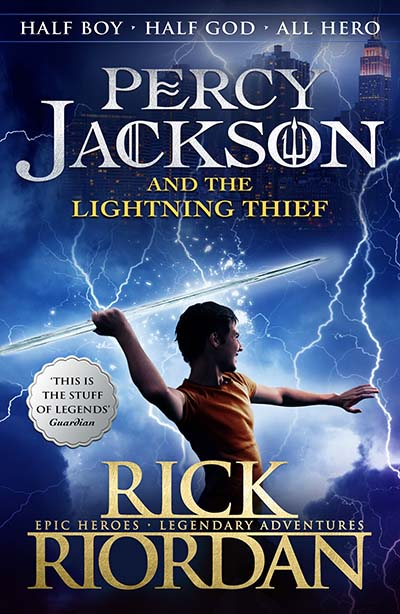 Percy Jackson and the Lightning Thief (Book 1) - Jacket