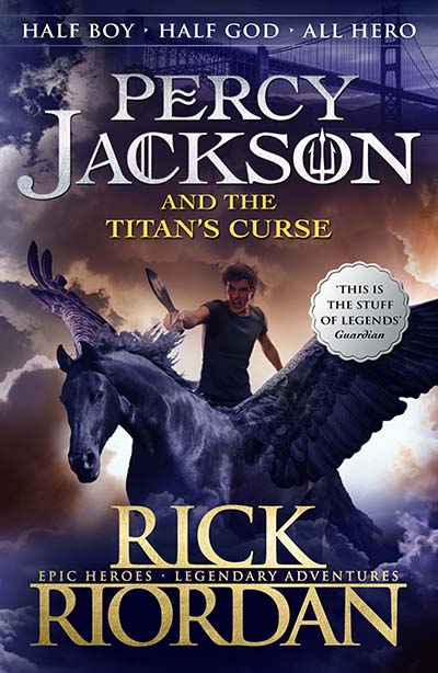 Percy Jackson and the Titan's Curse (Book 3) - Jacket