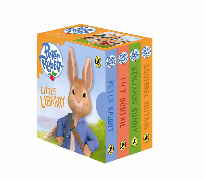 Peter Rabbit Animation: Little Library - Jacket