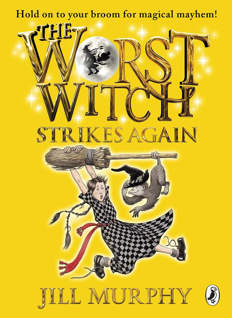 The Worst Witch Strikes Again - Jacket