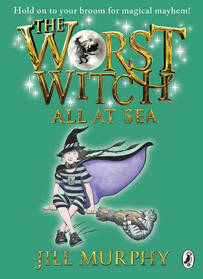 The Worst Witch All at Sea - Jacket