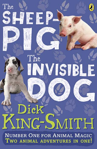 The Invisible Dog and The Sheep Pig bind-up - Jacket