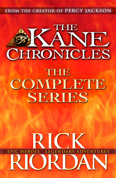 The Kane Chronicles: The Complete Series (Books 1, 2, 3) - Jacket