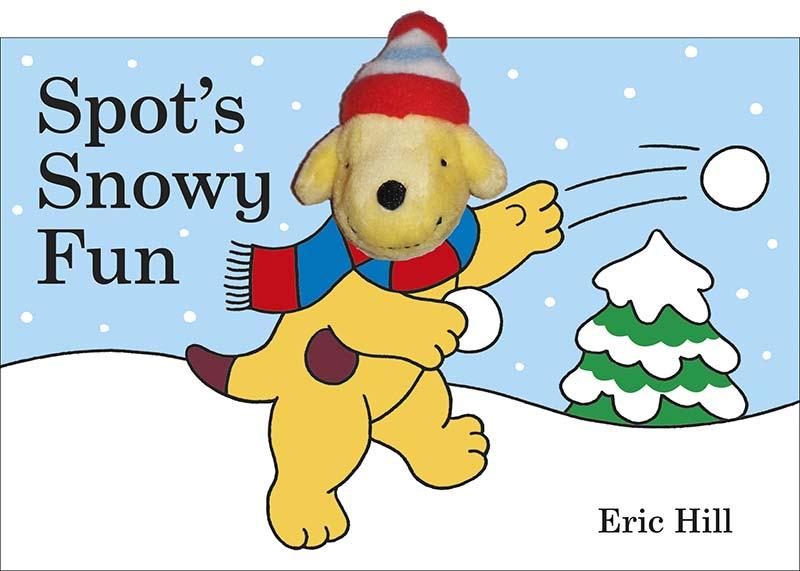 Spot's Snowy Fun Finger Puppet Book - Jacket