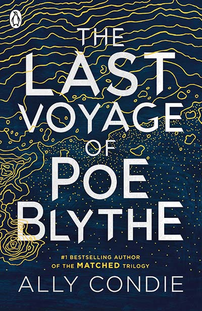The Last Voyage of Poe Blythe - Jacket