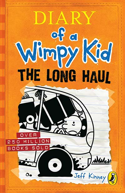 Diary of a Wimpy Kid: The Long Haul (Book 9) - Jacket