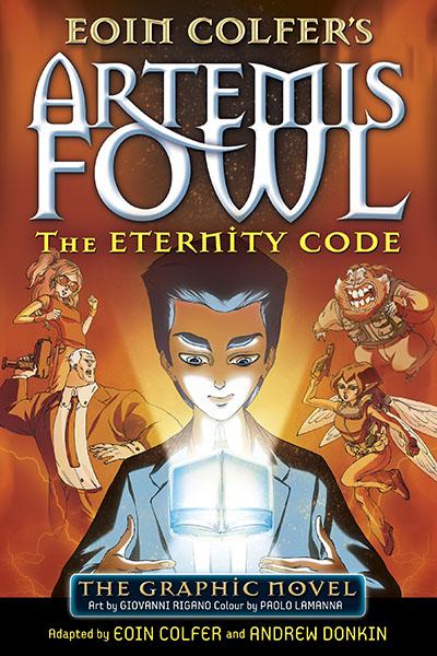 The Eternity Code - Jacket