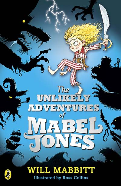 The Unlikely Adventures of Mabel Jones - Jacket