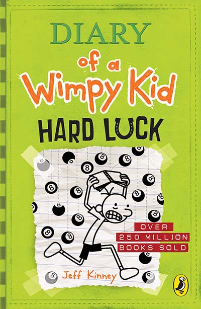 Diary of a Wimpy Kid: Hard Luck (Book 8) - Jacket