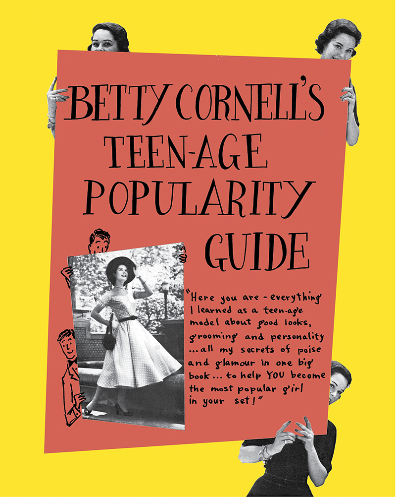 Betty Cornell Teen-Age Popularity Guide - Jacket